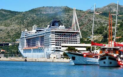 Croazia, turista cade da nave da crociera: salvata dopo 10 ore in mare