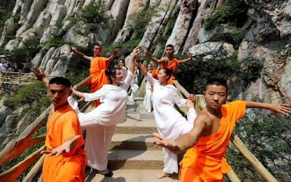 Cina, festival yoga e zen