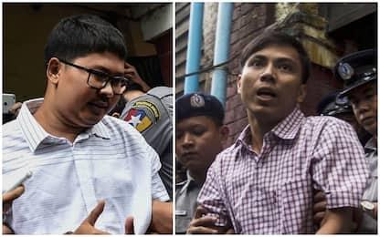 Myanmar, due giornalisti Reuters condannati a 7 anni di carcere