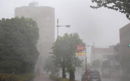 Giappone, allarme per tifone Haishen con venti e piogge record. VIDEO