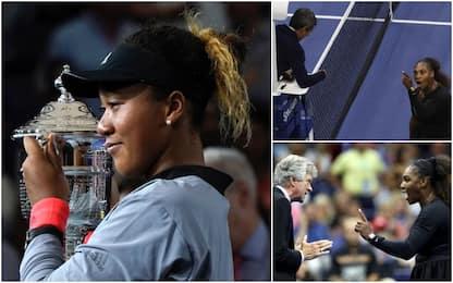 """Us Open, Serena Williams ko. Litiga col giudice e accusa: """"Sessismo"""""""