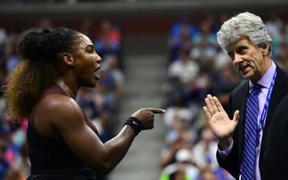 Serena Williams penalizzata, dibattito in Rete: se fosse stata uomo...