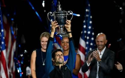 Djokovic vince il terzo Us Open: battuto Del Potro in tre set