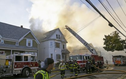 Massachusetts, 70 esplosioni di gas in 3 città: un morto e 16 feriti