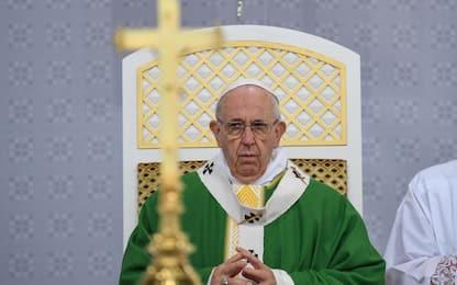 """Il Papa in Lituania: """"La memoria ci aiuti contro i germi del razzismo"""""""