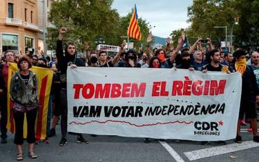 2GettyImages_barcellona_manifestazioni_anniversario_referendum