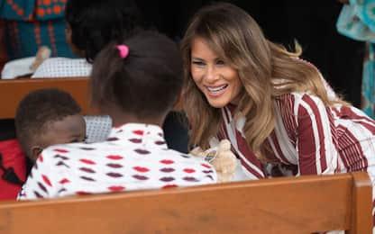 Melania Trump visita il Ghana