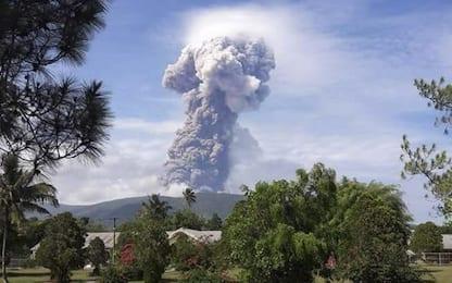 Indonesia, erutta il vulcano Soputan a Sulawesi, già colpita dal sisma