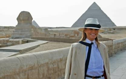Melania Trump in Egitto