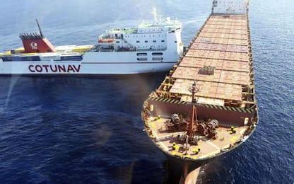 Corsica, collisione tra navi a largo dell'isola: carburante in mare
