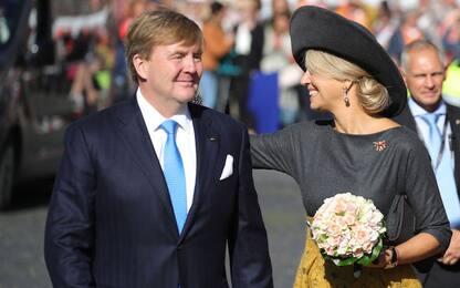 Reali d'Olanda in visita in Germania
