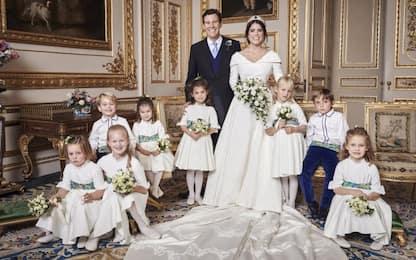 Matrimonio di Eugenia di York, le foto