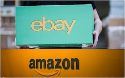 """eBay denuncia Amazon: """"Creano account per rubarci venditori"""""""