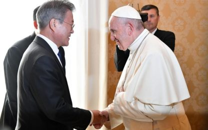 Corea del Nord, il Papa apre a una futura visita a Pyongyang