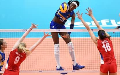 Mondiali pallavolo femminile 2018, Italia battuta da Serbia in finale