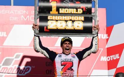 Motogp, Marc Marquez campione del mondo