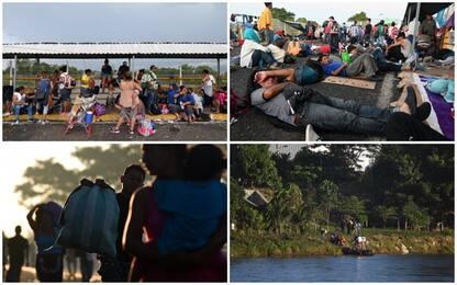 Carovana migranti verso Usa