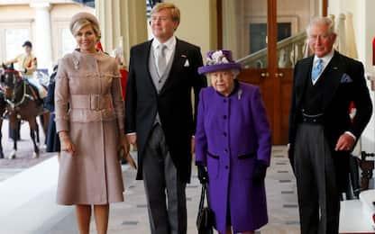 Reali Paesi Bassi in visita in UK