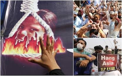 Pakistan, proteste contro Asia Bibi