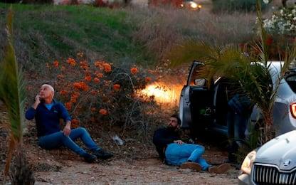 Gaza, la reazione di Israele. FOTO