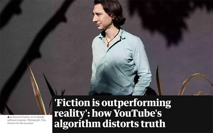 Inchiesta The Guardian su YouTube