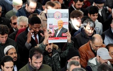 Khashoggi-manifestazioni-ansa
