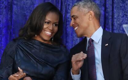 """Barack Obama, sorpresa per Michelle alla presentazione di """"Becoming"""""""