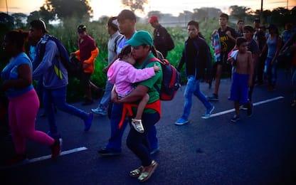 Carovana migranti, un racconto sul campo