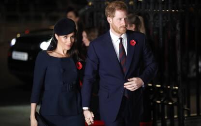 Il principe Harry e Meghan Markle lasciano Kensington Palace