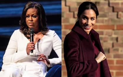 Meghan Markle, incontro segreto con Michelle Obama a Londra