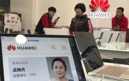 Huawei, Usa chiederanno l'estradizione di Meng Wanzhou
