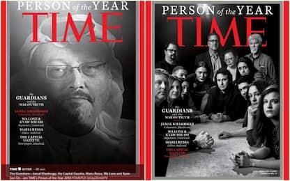"""Time, le Persone dell'anno sono i giornalisti """"guardiani"""" della verità"""