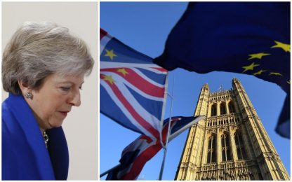 """Brexit, bozza Ue: """"Pronti a rassicurare May ma accordo non cambia"""""""