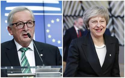 Brexit, Ue rassicura Gb. May: conclusioni dei 27 un passo avanti