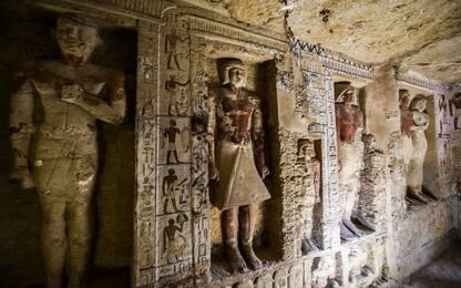 Egitto, scoperta tomba di sacerdote di oltre 4mila anni fa