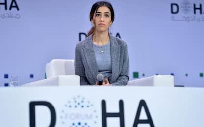 """Nadia Murad, Nobel pace: """"Mio nipote con Isis, mi minacciò di morte"""""""