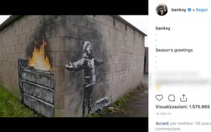 Banksy, nuova opera in Galles contro l'inquinamento