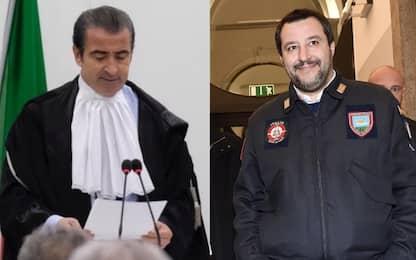 Giudice sotto scorta dopo minacce nei commenti di un post di Salvini