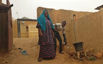 A Nyamei l'acqua corrente si acquista con la prepagata