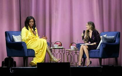 Michelle Obama, intervista glamour con Sarah Jessica Parker