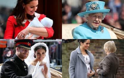 Il 2018 della famiglia reale inglese