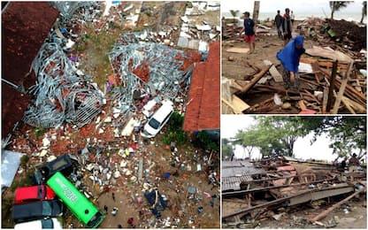 Tsunami Indonesia, morti e feriti vicino a Sunda Strait