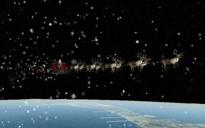 """""""Santa Tracker"""", come seguire il viaggio della slitta di Babbo Natale"""