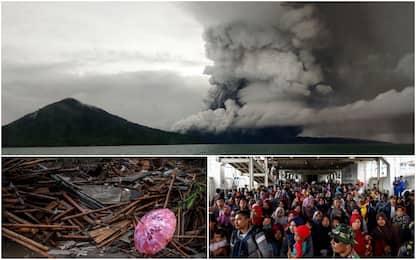 Tsunami Indonesia, alzato livello di allerta per il piccolo Krakatoa