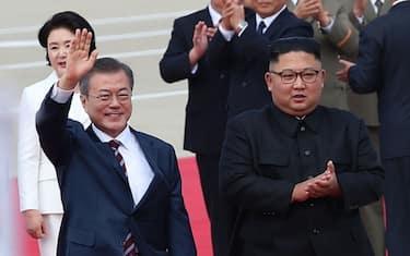 kim-moon-coree-getty