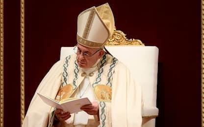 """Papa al Te Deum: """"A Roma troppi in condizioni indegne, è schiavitù"""""""