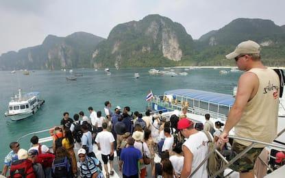 """Thailandia, attesa la tempesta tropicale """"Pabuk"""" sulla zona dei resort"""