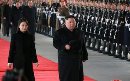 """Corea del Nord, Kim ai suoi: """"Preparare misure offensive"""""""