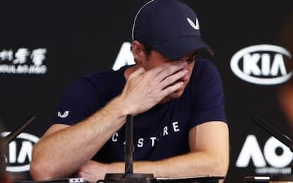 """Murray in lacrime annuncia ritiro: """"Spero di arrivare a Wimbledon"""""""