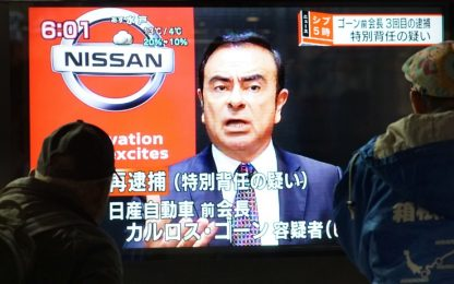 Ghosn resta in carcere, nuove accuse per ex presidente Nissan Renault